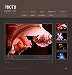 Бесплатный шаблон динамической Flash-фотогалереи