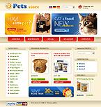 Бесплатный шаблон osCommerce CMS